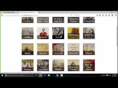 Webinar: Shakespeare in Performance: Prompt Books from the Folger Shakespeare Library