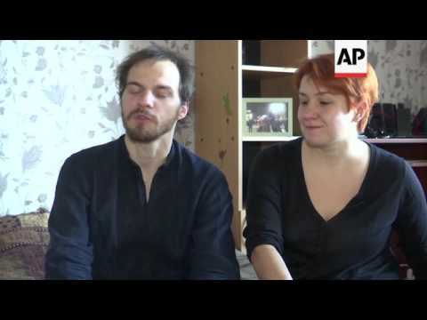Ukraine couple remember Maidan protests 3yrs on
