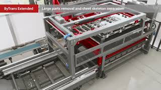 Bystronic Laser Automation: Loading and unloading laser cutting systems (English)