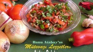 Antep Salatası (Salata Tarifleri)