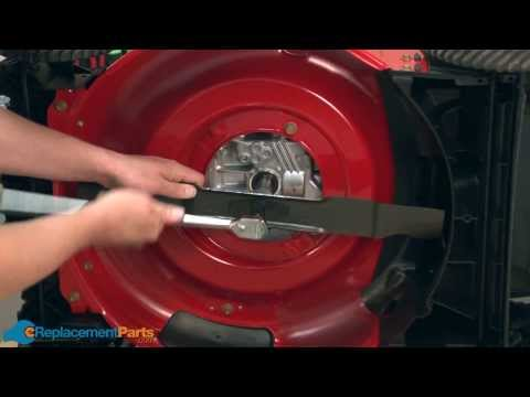 How to Replace the Mulching Blade on a Troy-Bilt TB130 Lawn Mower (Part # 942-0741A)