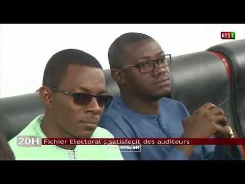 PAPES - Conclusions préliminaires de l'audit du fichier électoral au Sénégal  RTS