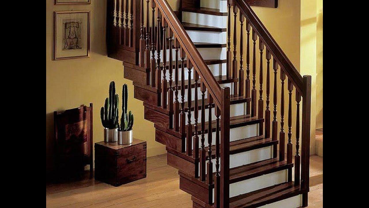 Los mejores barandales de madera youtube - Barandales modernos para escaleras ...