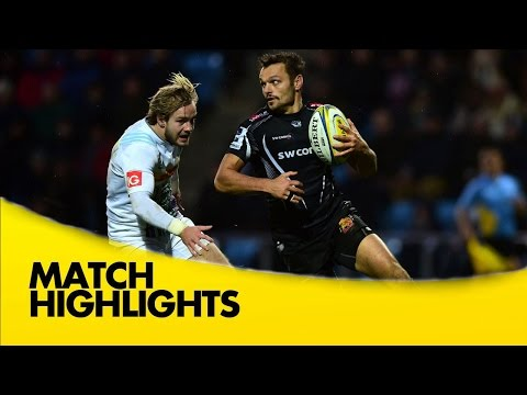 Exeter Chiefs Vs Harlequins - Aviva Premiership 2015/16  | Rugby Video Highlights