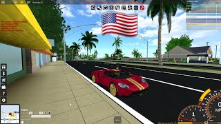 Roblox Ultimate Driving: Reviewing All The American Cars In The New Racing Update!