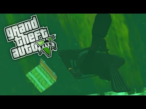 Deep-sea Treasure Hunting! - GTA 5 Real Life Mod - Day 19