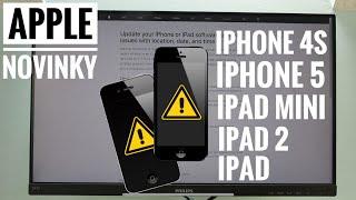 ℹ️ Apple vydal varování pro iPhone 4S, 5 a některé iPady! Proč?