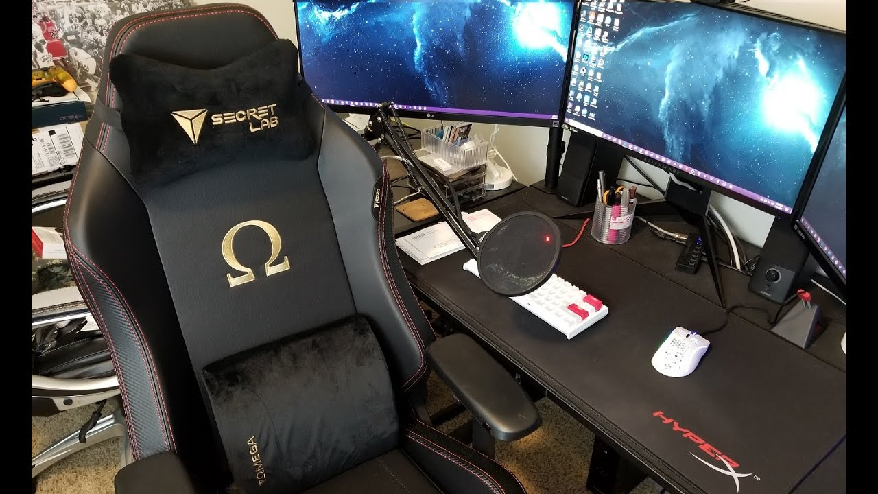 Secretlab Omega Stealth 2020 Series Gaming Chair Full Unboxing Assembly And Review Youtube