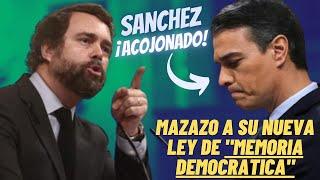 💥VOX ¡ACOJONA AL GOBIERNO!💥 ANUNCIA una TEMIBLE MEDIDA contra su SECTARIA LEY de MEMORIA DEMOCRÁTICA