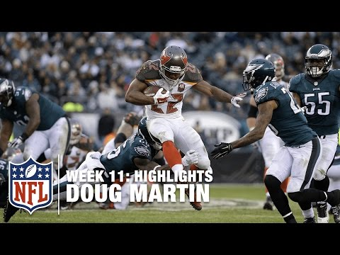 Doug Martin Highlights (Week 11) | Buccaneers vs. Eagles | NFL
