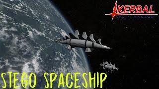 KSP Stego Spaceship by DesTroy