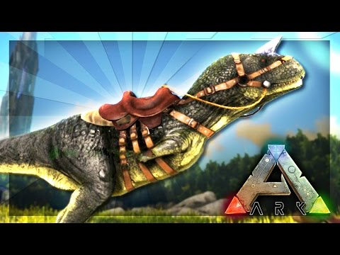 ARK: Survival Evolved Server - TAMING A CARNO! #8