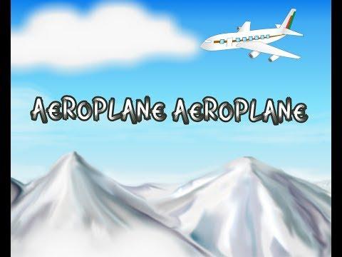 Aeroplane Aeroplane up in the sky - Nursery Song - YouTube
