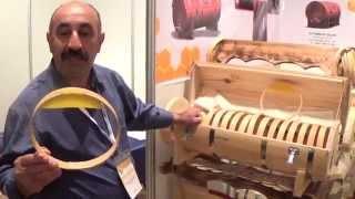 Турецкий Улей Для Сотового Меда, АПИСЛАВИЯ 2014, Ч-1: Turkish Honey, Muglaa