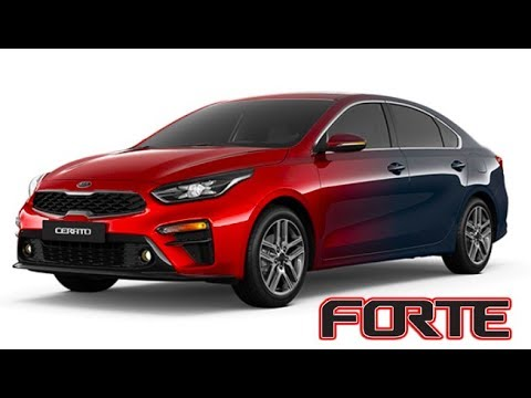 2019 Kia Forte Cerato All Color Variants