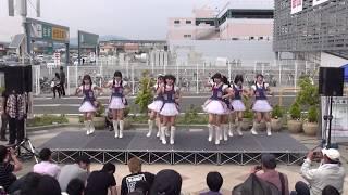 5月25日に浜松市のプレ葉ウォーク浜北で行われた名古屋クリアーズのライブ.