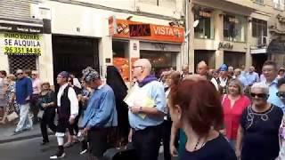 Валенсия шествие на День Испании.Валенсия 12 октября 2017