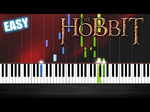 Ed Sheeran - I See Fire - The Hobbit - EASY Piano Tutorial by PlutaX - Synthesia
