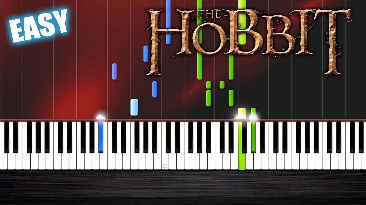 Ed Sheeran I See Fire The Hobbit Easy Piano Tutorial By Plutax Synthesia