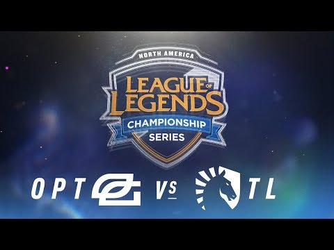 OPT vs. TL - Week 1 Day 2   NA LCS Spring Split   OpTic Gaming vs. Team Liquid (2018)