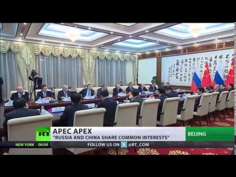 RUSSIAN China APEC deals REFLECT 'Natural SYNERGY'