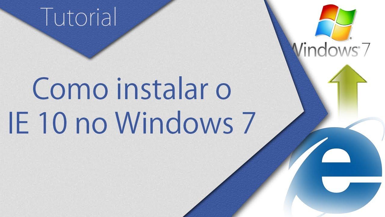 Скачать интернета эксплорер 10 для windows 7 32 bit