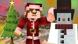 EKİPLE KAR FIRTINASINDAN KAÇIŞ (Minecraft)