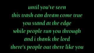 Mona Lisas & Mad Hatters - Elton John Lyrics [on screen]