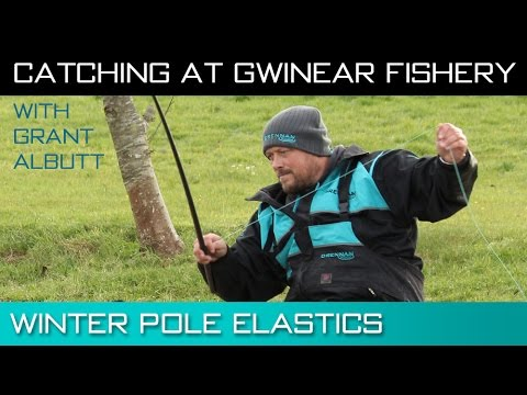 Catching At Gwinear Fishery – Winter Pole Elastics With Grant Albutt