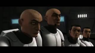 """Клип """"Звёздные Войны, Война клонов"""" на песню группы Любэ - Давай за."""