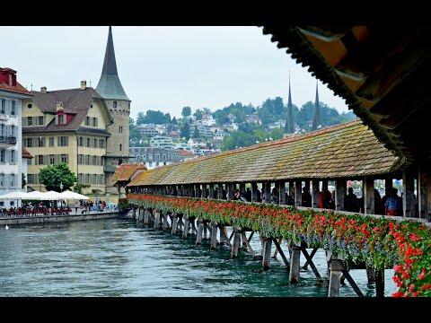 Walking Around Lucerne, Switzerland's well preserved Medieval City