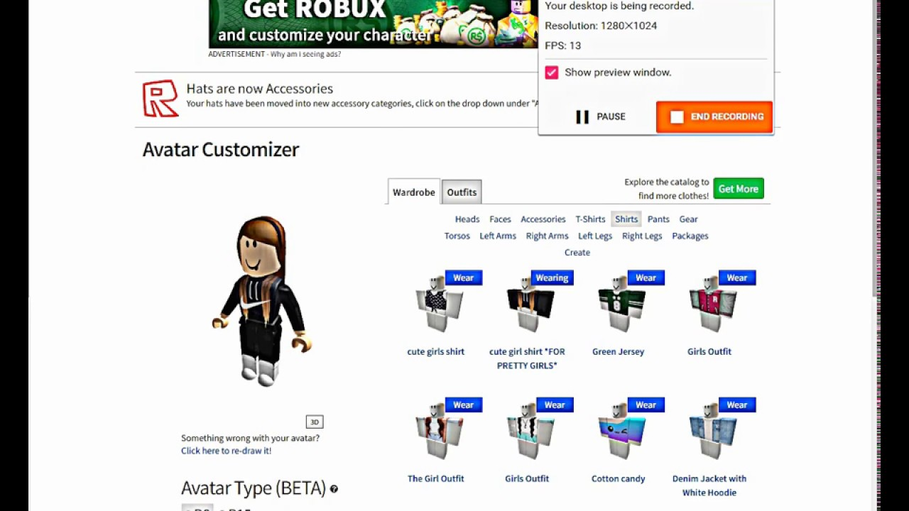 How To Look Amazing On Roblox Without Robux Girls - how to make your roblox character look good no robux youtube