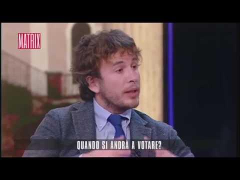 DIEGO FUSARO A MATRIX: 'L'OLIGARCHIA FINANZIARIA ODIA LA DEMOCRAZIA': VIDEO