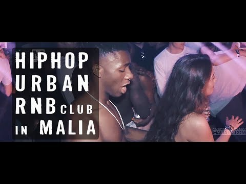 BEST Hip Hop UK Urban RnB Club in Malia // APOLLO Club // Clubbing Holidays & Events Crete Greece