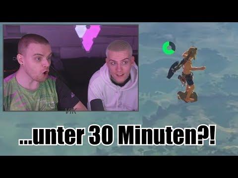 VIK & NIEK Reagieren Auf WELTREKORD! (Zelda BOTW / Speedrun)