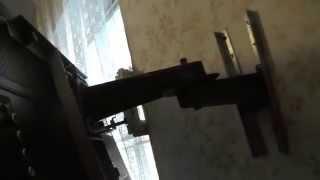 Самодельный кронштейн для LED телевизора, крепление на стену