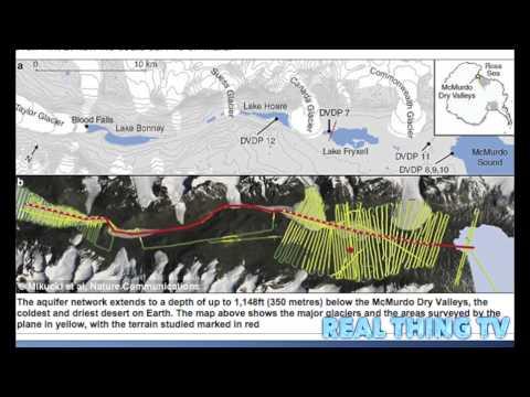 Antarctica's Eerie 'Blood Falls