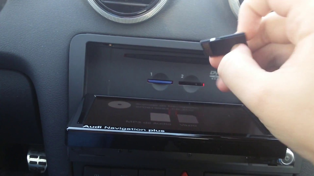 Audi MMI Navigation Plus RNSE LED Review YouTube - Audi rns e