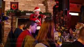 Martin France Benefiční vánoční večírek v restauraci Černý kohout