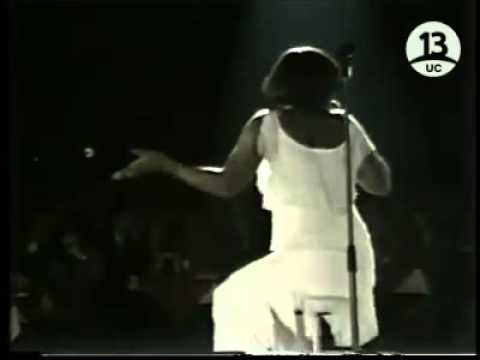 Gladys Knight     The way we were Try to remember,  live in Chile, 1979