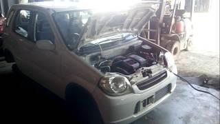 Контрактный двигатель Япония Suzuki KEI / Сузуки Кей / Hn11s 680276 A/T 4WD F6A 2962679