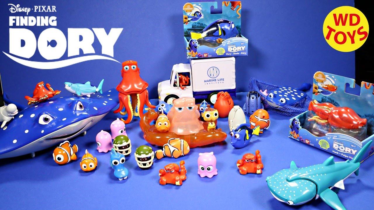 new finding dory disney pixar bath toy i swim dory hank wind up