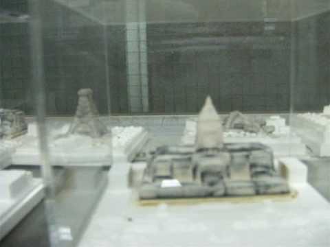 Takeshi Ishiguro's incense miniature buildings 石黒猛氏のお香の模型