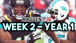 Madden 16 Jaguars Connected Franchise Year 1 - Week 2 vs Dolphins (Ep.3)