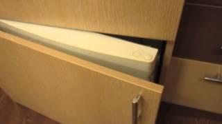 Как сделать из обычного холодильника встроенный.