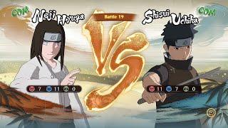 naruto shippuden ultimate ninja storm 4 neji hyuga vs shisui uchiha