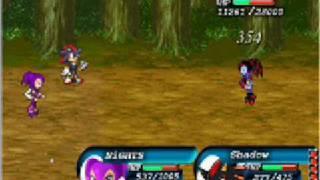 Super Sonic Rpg 7-Shadow & NiGHTS vs Reala
