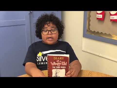 Silver Bluff Elementary School Book Trailer - Diary of a Wimpy Kid