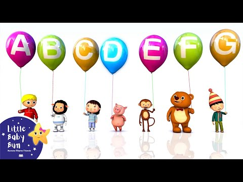 ABC   Alphabet   A to Z for Children  3D Animation from LittleBabyBum!