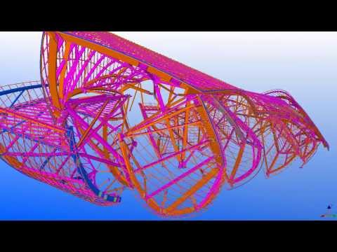 Tekla UK BIM Awards 2013: Fondation Louis Vuitton, Paris